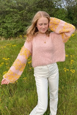 16733 Sweater i Fashion Light Luxury  og Alpaca Vibes